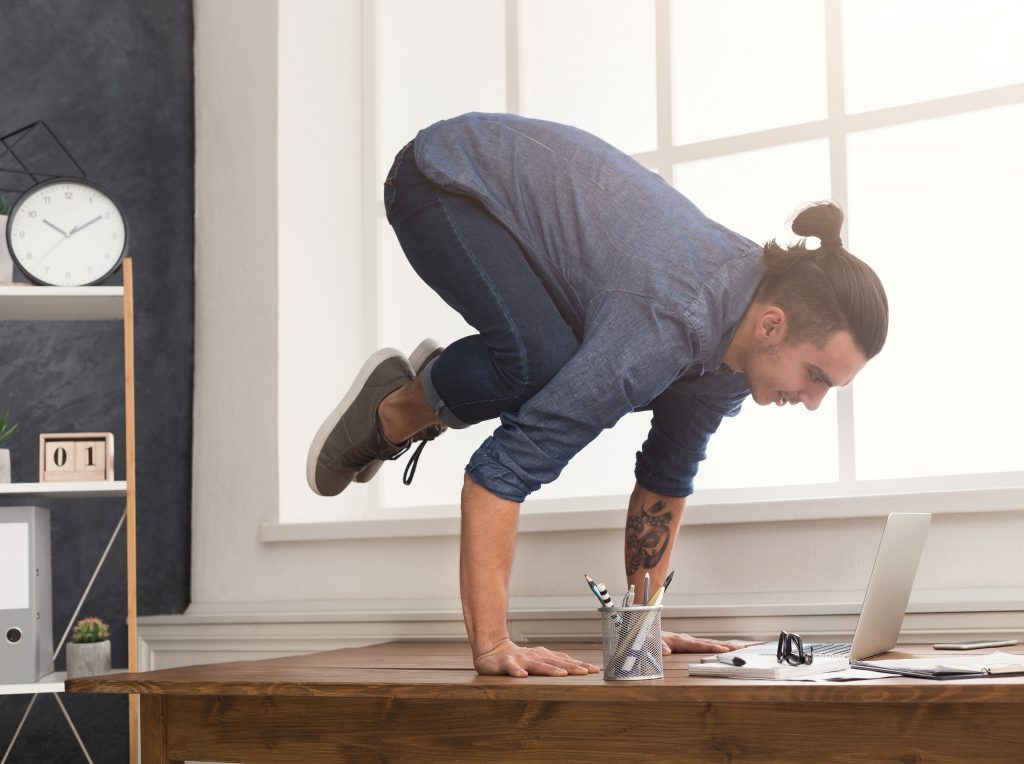Getting more exercise at work to avoid sickness absence